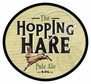 Hopping hare Badger